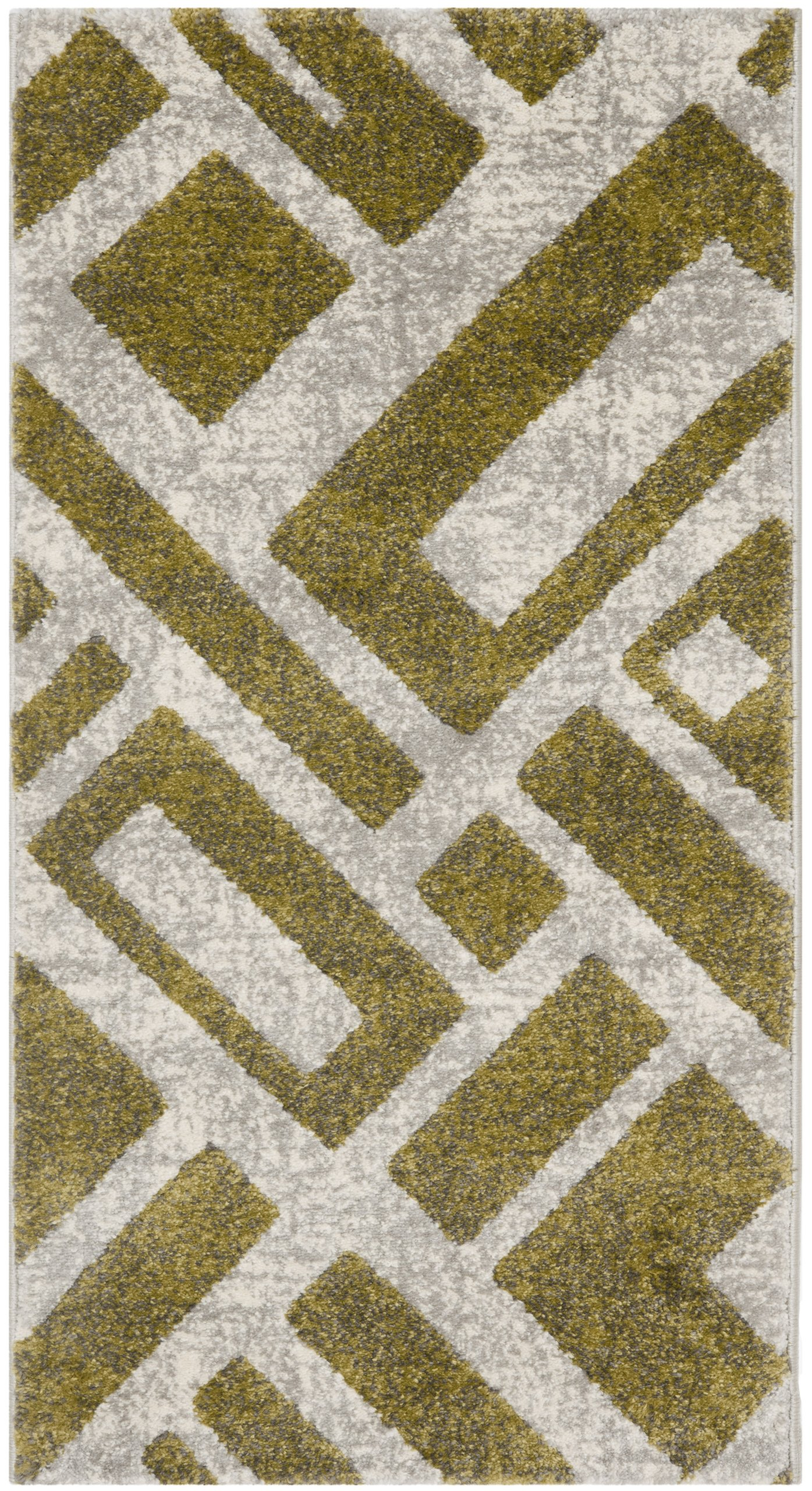 "Safavieh Porcello Collection PRL3730A Ivory Area Rug (2' x 3'7"")"