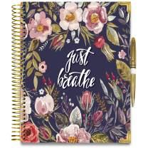 Tools4Wisdom 2020-2021 Planner April 2020 to June 2021 Calendar - 8.5 x 11 Hardcover with Golden Pen