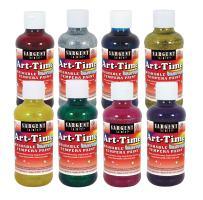 Sargent Art 17-3999 8 Ounce Art-Time Washable Glitter Tempera Paint Set, 8 Colors
