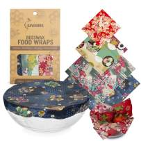 Reusable Beeswax Food Wrap, Zero Waste, Beeswax Wrap, Eco Friendly, Organic, Bees Wax Food Storage Wrappers Cling Sandwich, Alternative To Plastic Bags, Sustainable Products (Japanese)