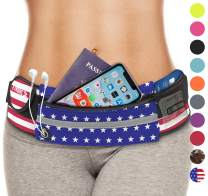 E Tronic Edge Waist Packs: Best Comfortable Unisex Running Belts That Fit All Waist Sizes & All Phone Models. for Running, Workouts, Cycling, Travelling Money Belt & More. Comes in 10 Stylish Colors