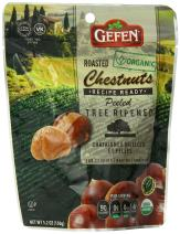 Gefen Whole Organic Chestnuts, Roasted and Peeled , 5.2-Ounces (Pack of 6)