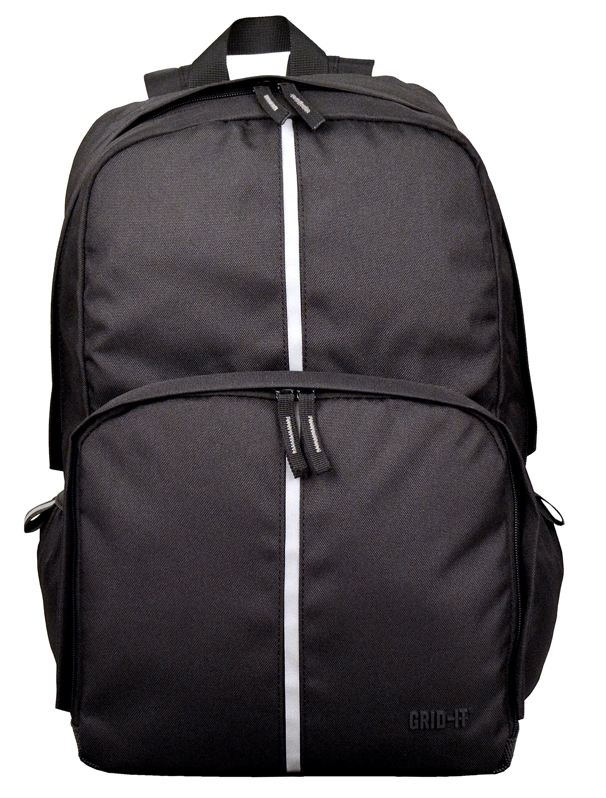 "Cocoon CBP3851BK Elementary 15"" Backpack with Built-in GRID-IT! Accessory Organizer (Black)"