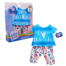 Baby Alive Single Outfit Set, Tie Dye Tee
