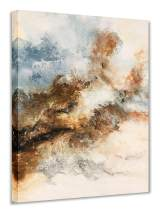 Yihui Arts Modern Canvas Painting Wall Art The Picture for Home Decoration Blue Watercolor Landscape Print On Canvas Giclee Artwork for Home Decor (36Wx48L)