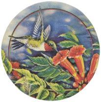 Thirstystone Hummingbird and Trumpet Vine Coasters