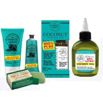 Nature's Spirit Coconut Oil Bath, Hair and Body 5-PC Spa Gift Set