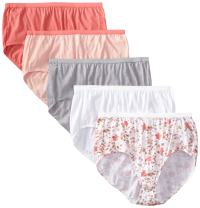 Just My Size Women's 5 Pack Cotton Brief