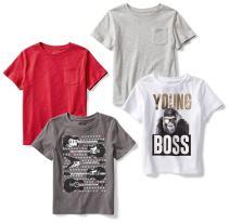 Amazon Brand - Spotted Zebra Boy's Short-Sleeve T-Shirts