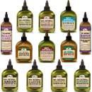 Difeel Premium Natural Hair Oil Collection Complete 12 Piece Hair Oil Set - LARGE SIZE 7.78 oz BOTTLES