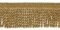 DÉCOPRO 10 Yard Value Pack|2.5 Inch Bullion Fringe Trim|Style# EF25 Color: Two Tone Gold - 8534|30 Ft / 9.5 Meters