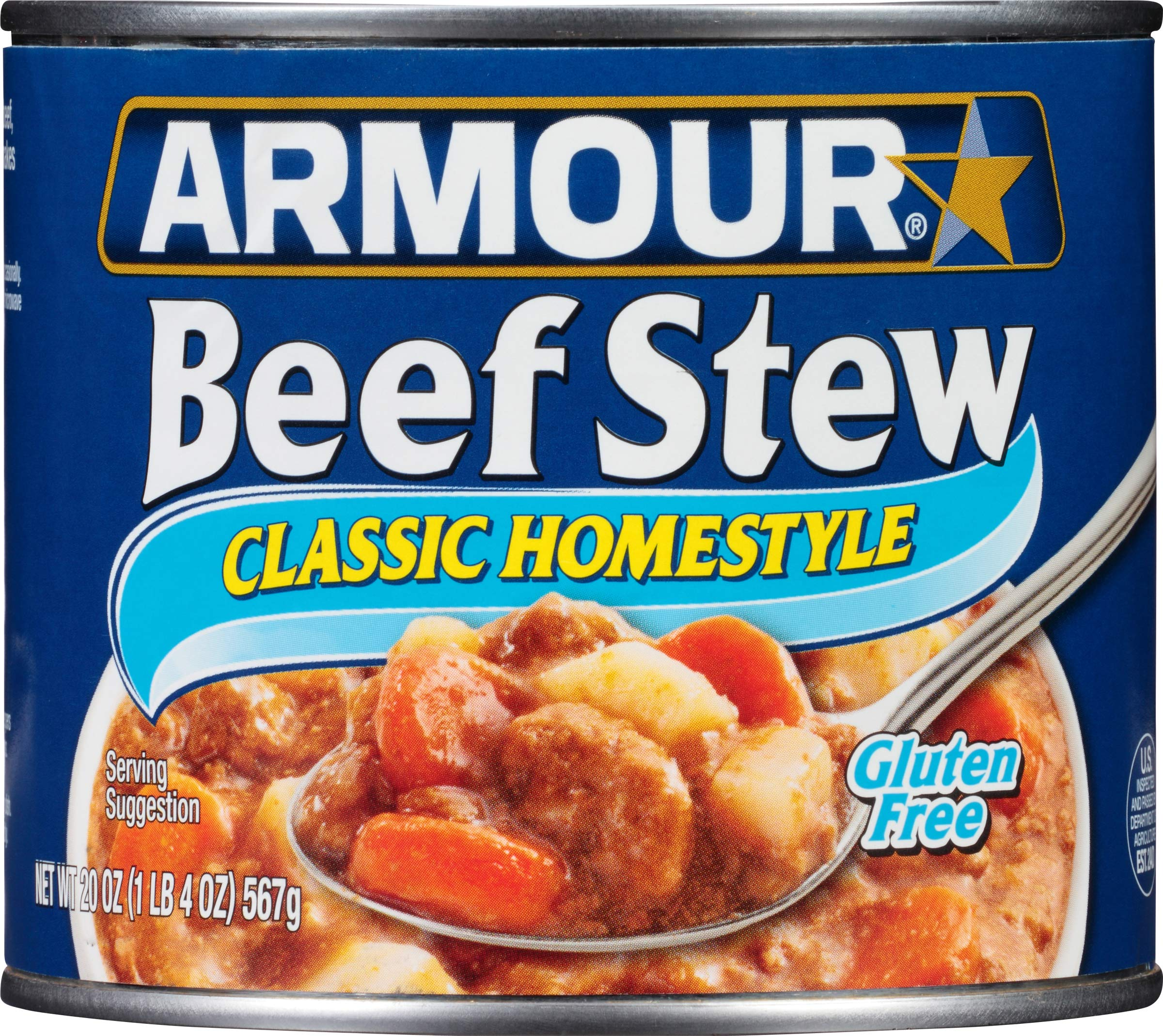 Armour Star Classic Homestyle Beef Stew, 20 oz. (Pack of 12)