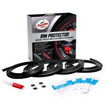 Turtle Wax 50699 Premium Rim Protector, Black (Pack of 4)