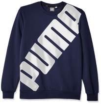 PUMA Men's Big Logo Crewneck Sweatshirt