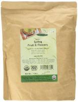 Davidson's Tea Bulk, Organic Spring Fruit & Flowers, 16-Ounce Bag