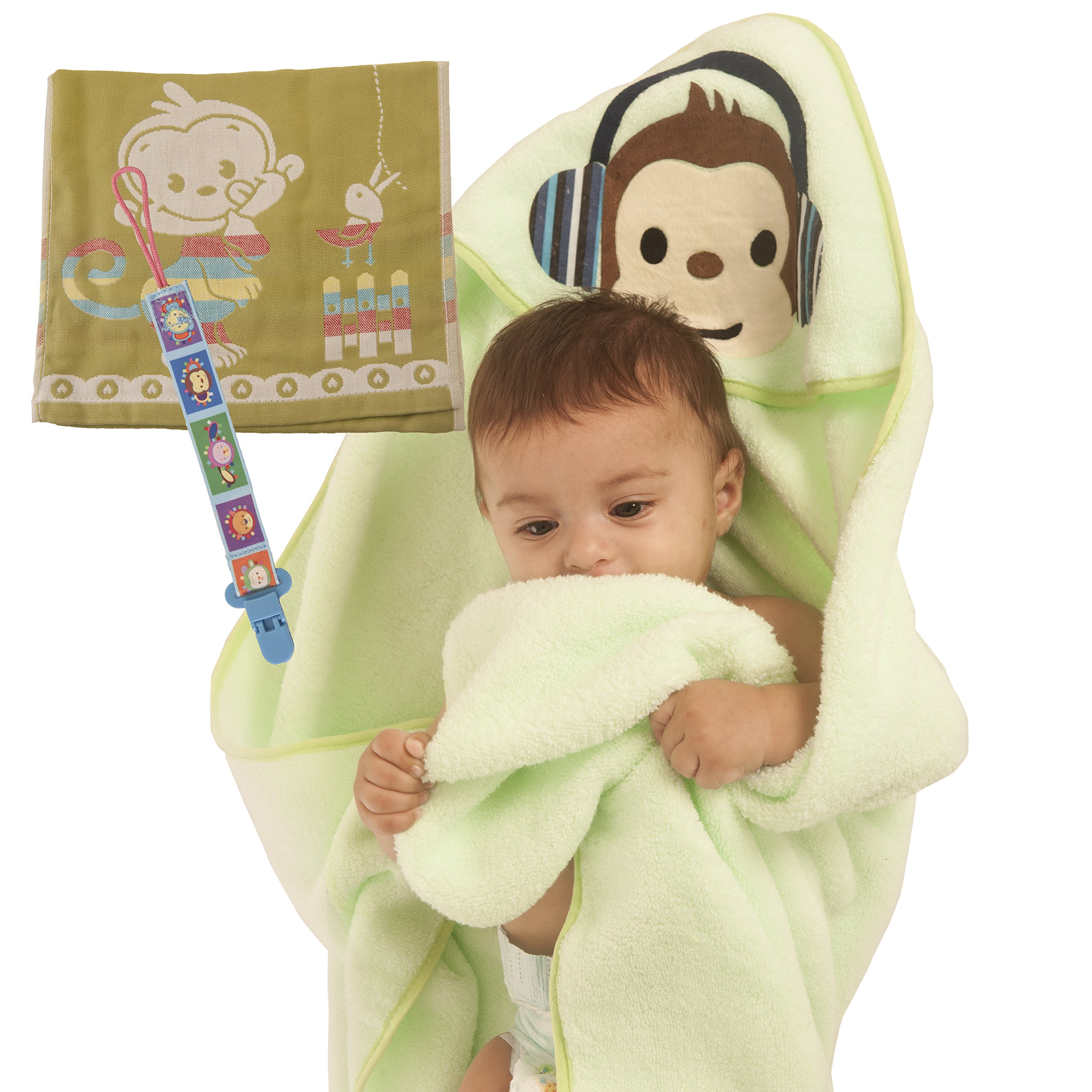 Premium Hooded Baby Bath Towel For Boys & Girls: Perfect Baby Shower Gift Set Ultra Soft Absorbent Cotton, Newborn & Toddler Wrap