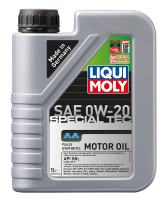 Liqui Moly 2207 0W-20 Special Tec AA Motor Oil, 1 Liter, Pack of 6