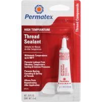 Permatex 59214-12PK High Temperature Thread Sealant, 6 ml (Pack of 12)