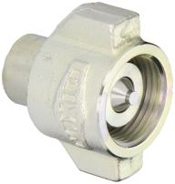 """Dixon 12WSF12-BOP Steel Blowout Prevention Safety Hydraulic Fitting, Coupler, 1-1/2"""" Coupling x 1-1/2"""" - 11-1/2 NPTF"""