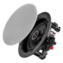 """OSD Audio 5.25"""" Trimless Thin Bezel in-Ceiling/in-Wall Speaker Pair 75W - ACE500"""