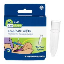 Ezy Dose Kids Nasal Aspirator Storage Refills | Sinus Relief and Snot Sucker for Baby and Toddler | Nose-Pals | Disposable