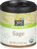 365 Everyday Value, Organic Sage, 0.21 oz