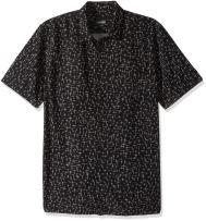Zanerobe Men's Cotton Square Xcross Box Short Sleeve Shirt