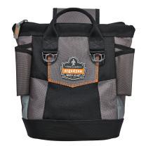 Ergodyne Arsenal 5517 Premium Topped Tool Pouch with Zipper, One Size, Black
