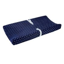 Carter's Changing Pad Cover, Navy Stars, One Size