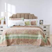 Barefoot Bungalow Palisades Pastel Bedspread Set, 2-Piece, Twin
