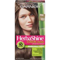 Garnier Herbashine Haircolor, 500 Medium Natural Brown