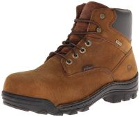Wolverine Men's Durbin Waterproof Steel- Toe Brown Boots