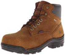 Wolverine Men's Durbin Waterproof Steel- Toe Brown Boots