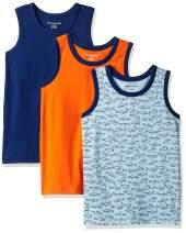 Amazon Essentials Boys' Sleeveless Tank Tops