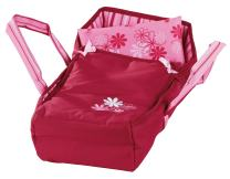 """Gotz Sweet Dreams Soft Portable Carry Bed with Handles for Baby Dolls up to 16.5"""" - Machine Washable Includes Pillow"""