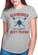 Baseball Mom Shirt, Diamonds are a Girls Best Friend Shirt, Lets Do This Boys Shirt, Women Sport Shirts