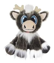 """Reindeer In Here: A Christmas Friend (Most Awarded Christmas Tradition Brand) 8"""" Plush Toy - Perfect for Christmas & Holiday Gifts"""