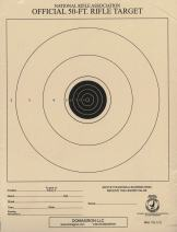 DOMAGRON 50 Foot Small Bore Single Official NRA Target - TQ-1/1(T)