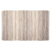 DII Contemporary Reversible Machine Washable Recycled Yarn Area Rug for Bedroom, Living Room, and Kitchen, 2'x3', Variegated Stripe Stone