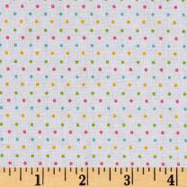 Riley Blake Designs Riley Blake Swiss Dot Girl Fabric By The Yard