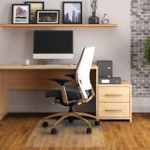 """Floortex Anti-Microbial Chair Mat 36"""" x 48"""" for Standard Pile Carpets"""