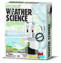 4M Weather Station Kit - Climate Change, Global Warming, Lab - STEM Toys Educational Gift for Kids & Teens, Girls & Boys