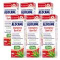 Alocane® Emergency Burn Gel 6 Pack, 4% Lidocaine Max Strength Fast Pain Itch Relief for Minor Burns, Sunburn, Kitchen, Radiation, Chemical, First Degree Burns, First Aid Treatment Burn Care 2.5 Fl Oz