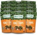 Rhythm Superfoods Kale Chips, Zesty Nacho, Organic and Non-GMO Vegan/Gluten-Free Superfood Snacks,2 Ounce (Pack of 12)