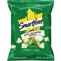 Smartfood Spicy Jalapeño Ranch Flavored Popcorn, 7 Ounce