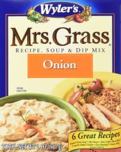 Mrs. Grass Onion Recipe, Soup & Dip Mix (2 oz Boxes, Pack of 12)