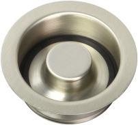 Westbrass D2089-07 FBA_D2089-07 Disposal Flange, Satin Nickel