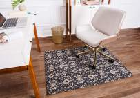 Anji Mountain Rug'd Collection Chair Mat, 36 x 48-Inch, Alhambra