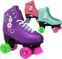 Lenexa uGOgrl Roller Skates for Girls - Kids Quad Roller Skate - Indoor, Outdoor, Derby Children's Skate - Rollerskates Made for Kids - Great Youth Skate for Beginners