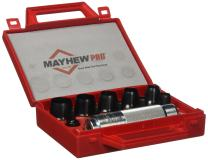 Mayhew Pro 66010 3 mm to 20 mm Metric Hollow Punch Set
